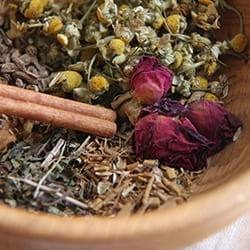 Herbal mixtures that act therapeutically and help the body